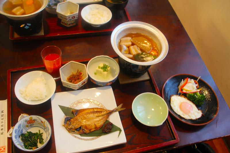 Matsumoto, Hotel Kagestsu Breakfast