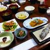 Dinner Selections, Maruya Inn, Tsumago