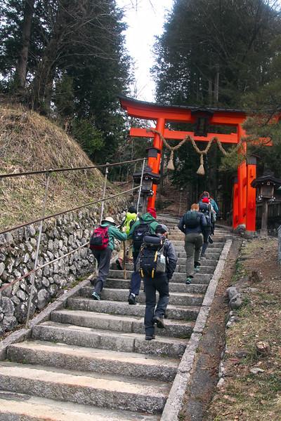 Entrance to Yabuhara Shrine