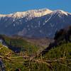 View on Mountain Range from Kaida Plateau