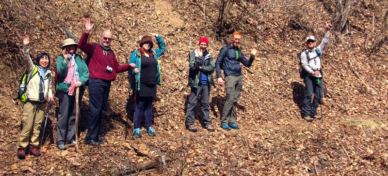 Walk Japan Group on the Kaida Plateau