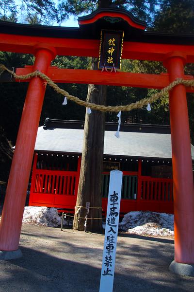 Temple in Narai on the Nagasendo Road