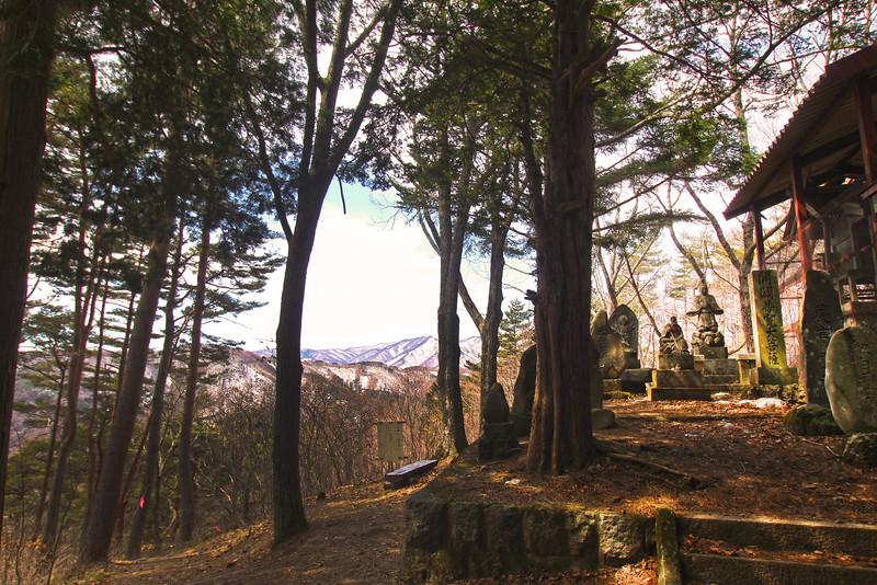 Sacred Pilgrimage Site Along the Torii Pass