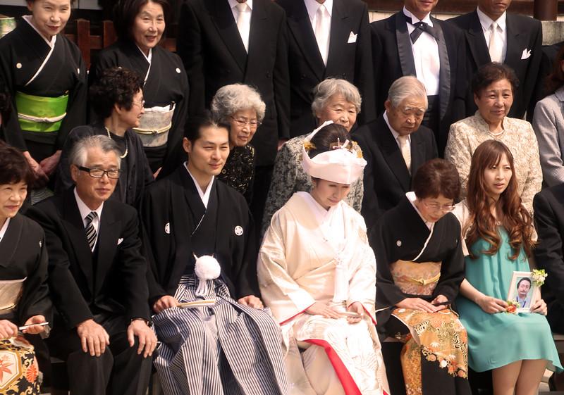 Matsumoto Wedding, Bowing in Prayer