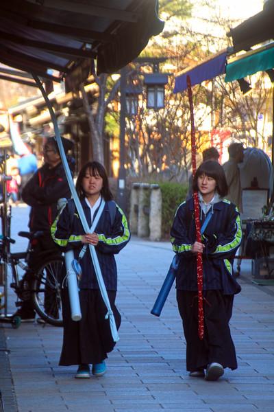 Matsumoto, Costumed Young Ladies