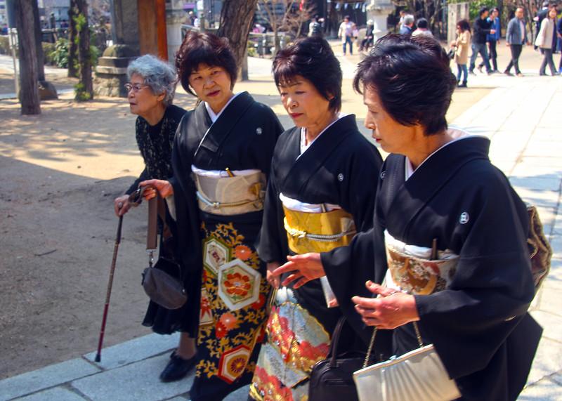 Matsumoto, Ladies in Traditional Costume
