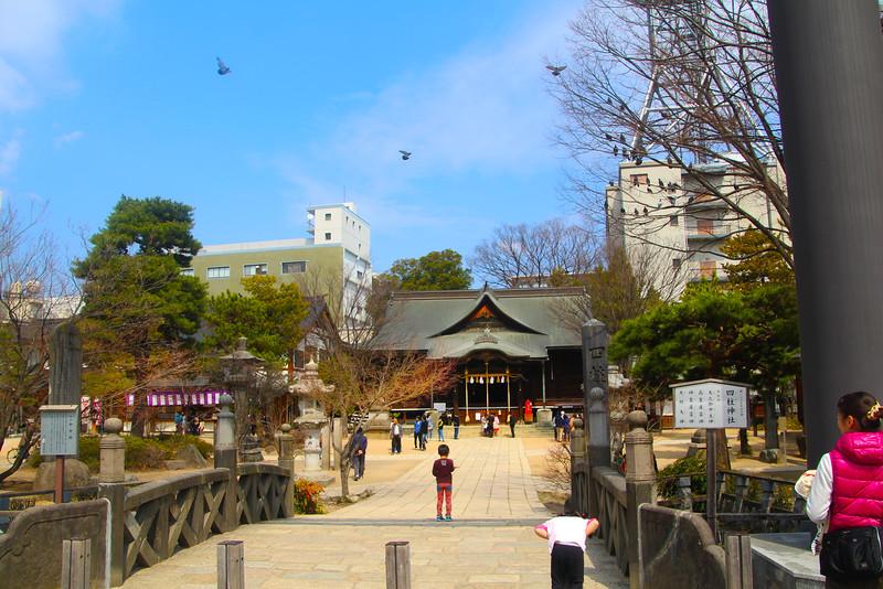 Matsumoto, Shinto Shrine and Square