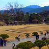 Matsumoto, Strollers in Castle Garden