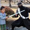 WalkJapan, Children with Samurai