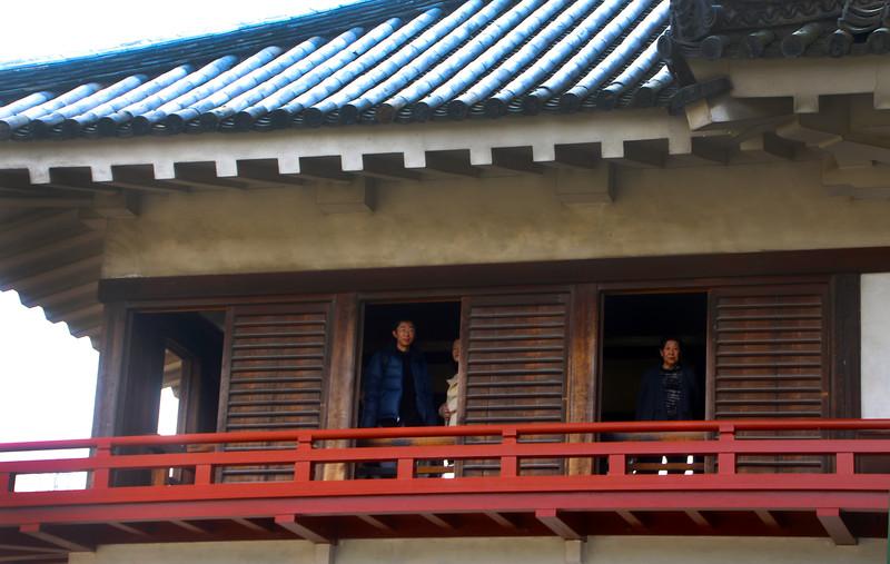 Visitors in Matsumoto Castle