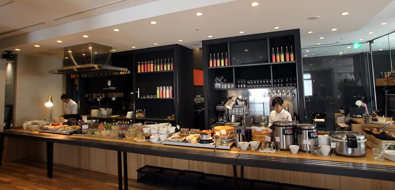 Lavish Breakfast Buffet, Royal Park Hotel, Magoya