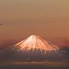 Japan, Mt. Fuji, Captured from Japan Airlines Flight