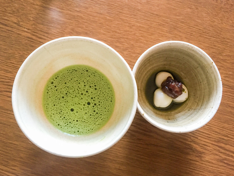 Learning about the traditional Japanese tea ceremony in Wazuka, Japan