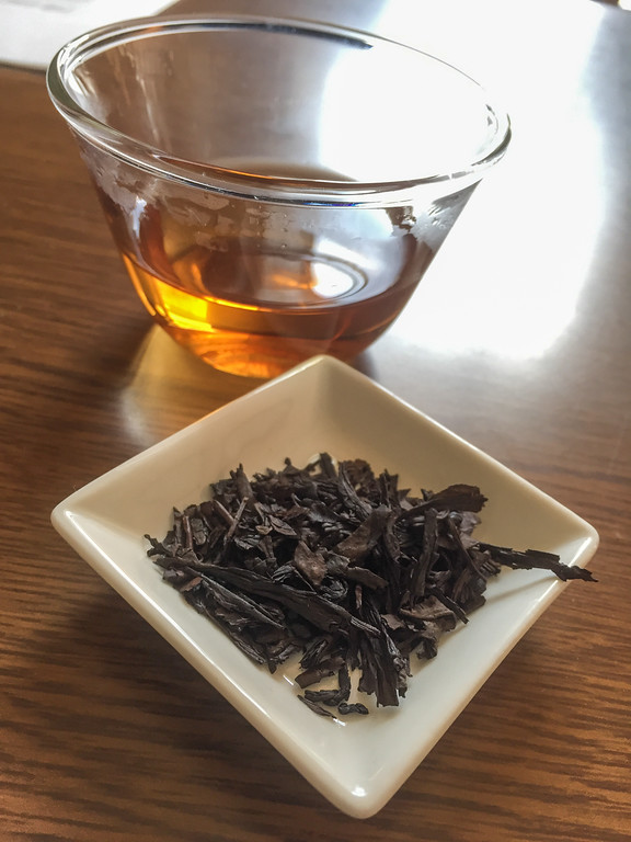 "Sampling ""wakoucha"" Japanese black tea 