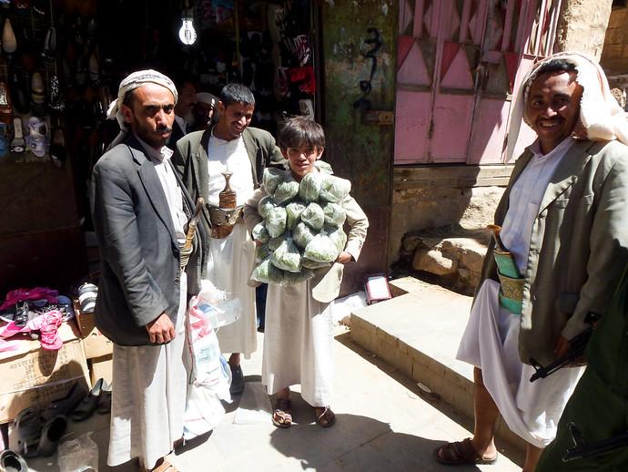 khat in yemen