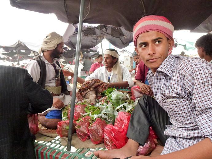 yemen khat qat market