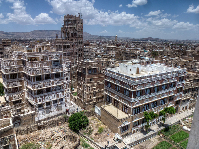 sanaa yemen streets