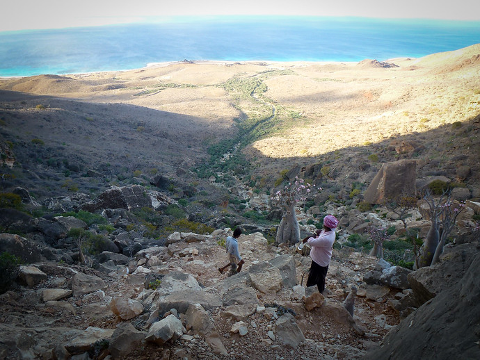 socotra hiking