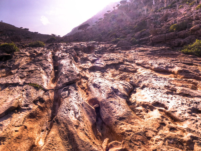 socotra volcanic formations