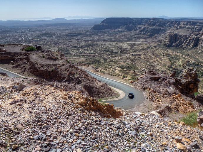 driving in yemen