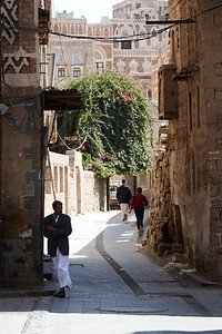 Having a look around Old Sana'a...