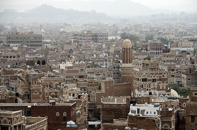Hazy day in Sana'a...
