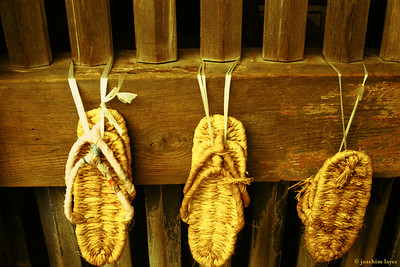 Waraji, 草鞋, Japanese straw sandals