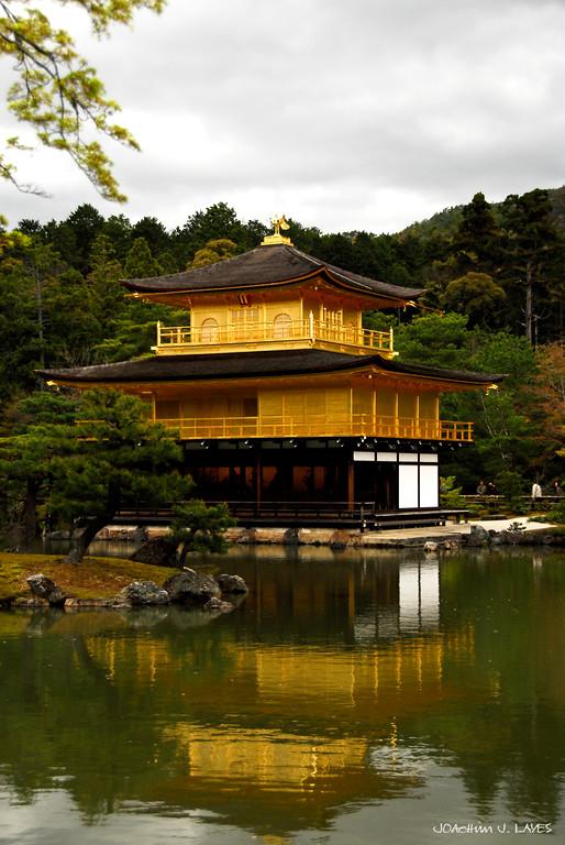 The Golden Pavilion, Kinkaku-ji Temple