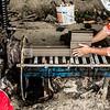 Making bricks in Mekong Delta Vietnam