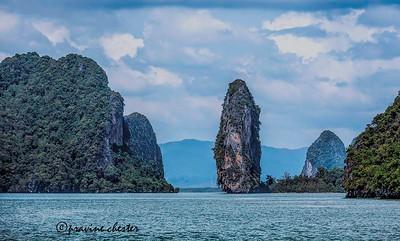 Rocks in the Andaman Sea