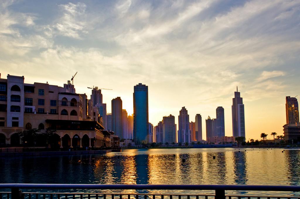 Dubai at dusk