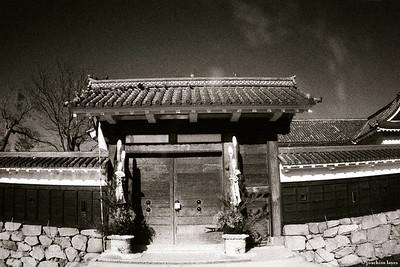 Gate at the Matsumoto Castle 松本城 Matsumoto, Nagano Prefecture, Japan