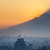 Sunrise on Mount Merapi