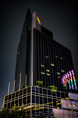 The Sofitel Shanghai Hyland Hotel on Shanghai's famous Nanjing Road pedstrian mall