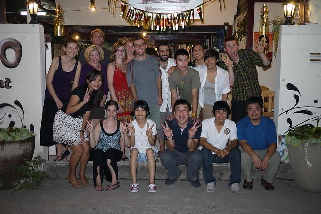 A Team Chiang Mai gang gathering!