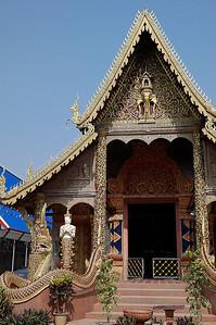 Chiang Rai temple, Thailand