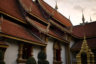 Wat Srisuphan, the silver temple in Chiang Mai, Thailand