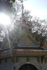 Doi Suthep temple in Chiang Mai, Thailand