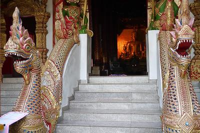 Buddha at Wat Srisuphan in Chiang Mai, Thailand