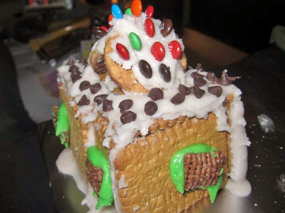 My gingerbread house