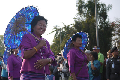 Parade at the Chiang Mai Flower Festival, Thailand