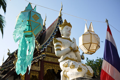 Loy Krathong in Chiang Mai, Thailand