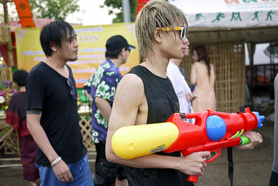 Too cool for school, but not too cool for Songkran in Chiang Mai, Thailand