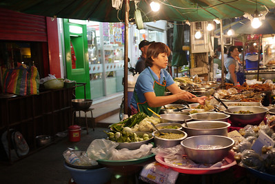 Street food in Chiang Mai, Thailand