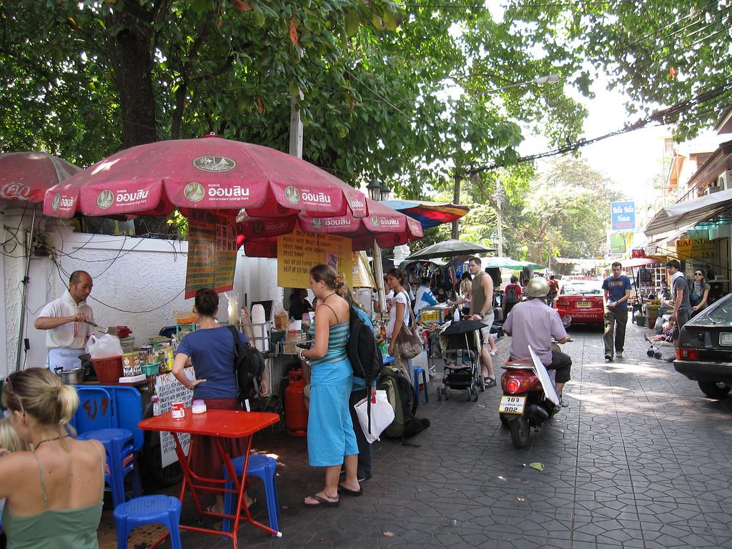 Streets of Bangkok, Thailand