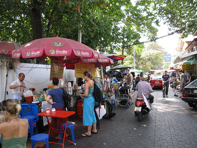 Vegetarian Street Vendor