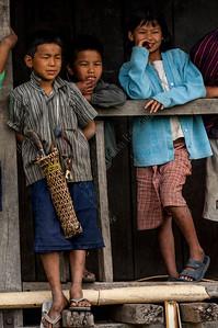Ido Mishmi tribe,Aohalivillage,Arunachal Pradesh, India,Inde