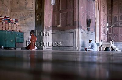 1-71-01-0024 India Inde Delhi mosque moskee mosquée;
