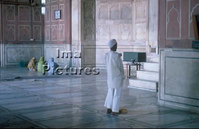 1-71-01-0023 India Inde Delhi mosque moskee mosquée;