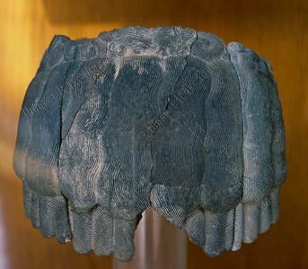 stone wig,stenen pruik,perruque en pierre,2400-2500BC,Damascus